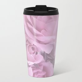Pink Rose Bouquet Romantic Atmosphere #decor #society6 #buyart Travel Mug