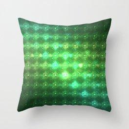 DFFGP Green Throw Pillow