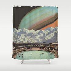 Saturn Spa Shower Curtain