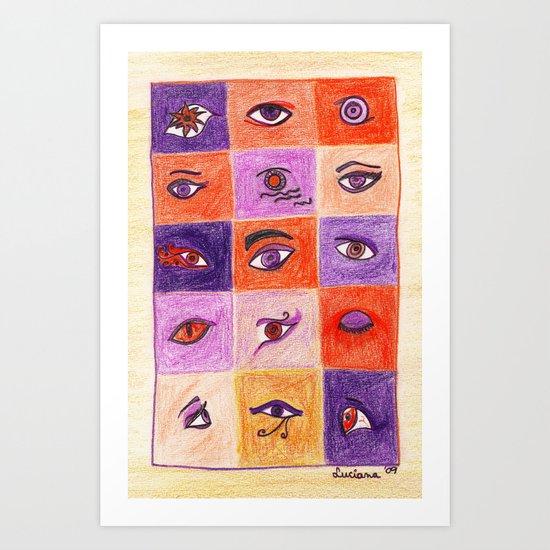 Fifteen Art Print