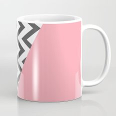 Color Blocked Chevron 7 Mug