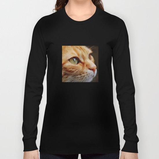 cat face 4 Long Sleeve T-shirt