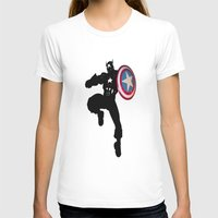 captain silva T-shirts featuring Captain by Crayle Vanest