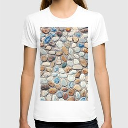 Pebble Rock Flooring V T-shirt