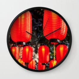 Po Lin Monastery, Lantau Island, Hong Kong Wall Clock