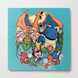 Pokèfriend Metal Print