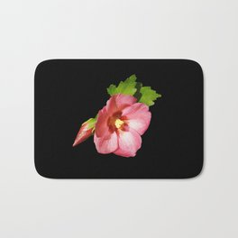 Think Flowers - Pink Rose of Sharon Bath Mat