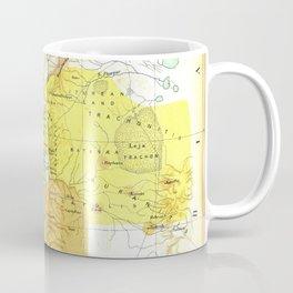 Old 27AD Christ Palestine Map Coffee Mug