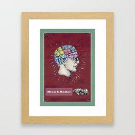 Mind and Matter. Framed Art Print