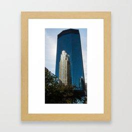 Crown Jewel of Downtown Framed Art Print