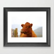 Mooo Framed Art Print