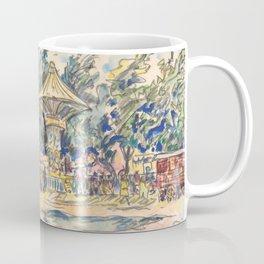"Paul Signac ""Village Festival"" Coffee Mug"