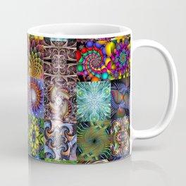 Fractals Montage Coffee Mug