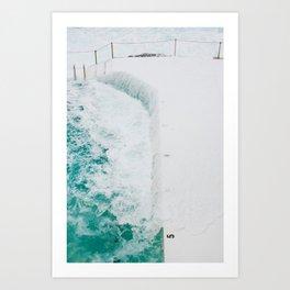 Bondi Icebergs 02 Art Print
