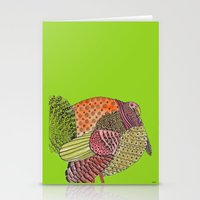 turkey Stationery Cards featuring Turkey by Adrienne S. Price