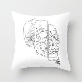 Split Skull Sectional Throw Pillow
