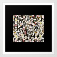 Vultures Art Print