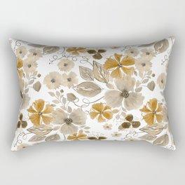 Floral pattern. 6 Rectangular Pillow