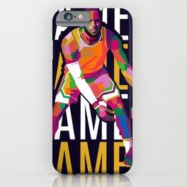 Lebron King James iPhone Case