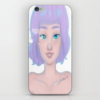glitch iPhone & iPod Skins featuring Glitch by Dante Blue