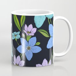 Forget -Me-Not flowers pattern Coffee Mug