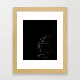 Houston?! Framed Art Print