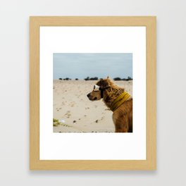 Doggles Framed Art Print