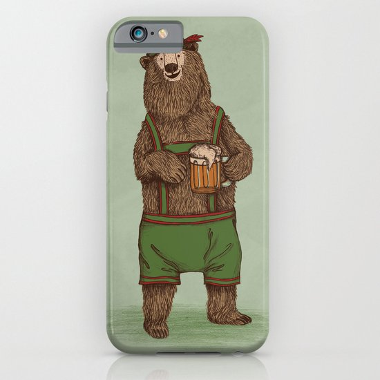 Traditional German Bear iPhone & iPod Case