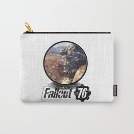 Fallout 76 circle Carry-All Pouch