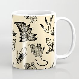 Forest Lurker Pattern Coffee Mug
