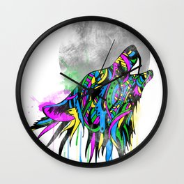 Howl Wall Clock