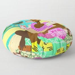 Kitten Room Floor Pillow