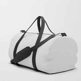 Sherwin Williams Trending Colors of 2019 Nebulous White (Soft Pastel Gray) SW 7063 Solid Color Duffle Bag