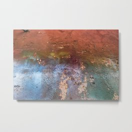 Distresssed Metal Print