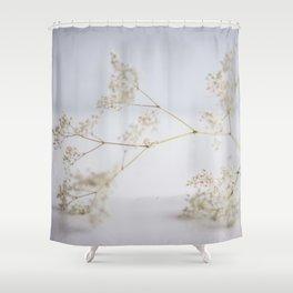 Soft flowers Shower Curtain