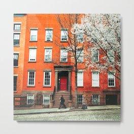 Brooklyn in the Springtime Metal Print