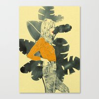 plants Canvas Prints featuring Plants by Magdalena Pankiewicz