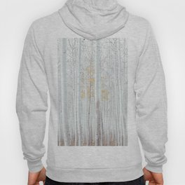 White tree forest Hoody