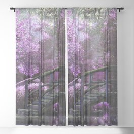 Tea Garden Sheer Curtain