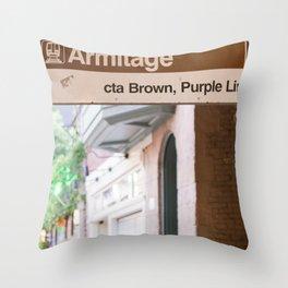 Lincoln Park Armitage Throw Pillow