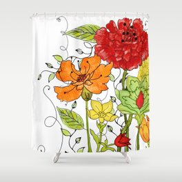 Aria II Shower Curtain