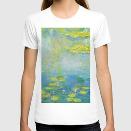12,000pixel-500dpi - Waterlilies, 1906 - Claude Monet T-shirt