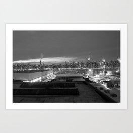 NYC from Brooklyn Art Print