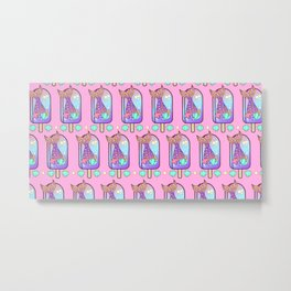 Delicious Popsicle of Mermaid Metal Print