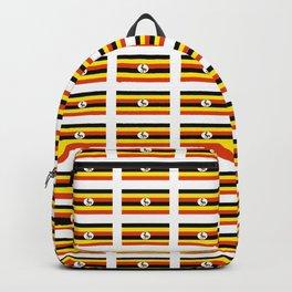 Flag of Uganda – Ugandan,ugandes,Kampala,Kyoga,Turkana. Backpack