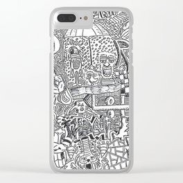Wildstyle Clear iPhone Case