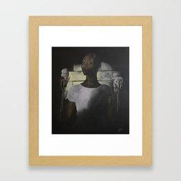 Melting and Faded Framed Art Print