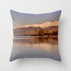 Derwentwater - Lake District Throw Pillow