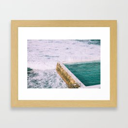Bondi Iceberg Framed Art Print
