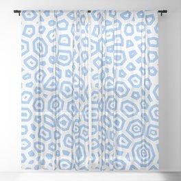 Experimental pattern 19 Sheer Curtain